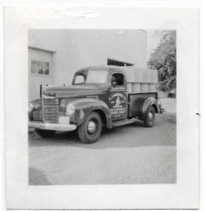CJ Hansen company truck